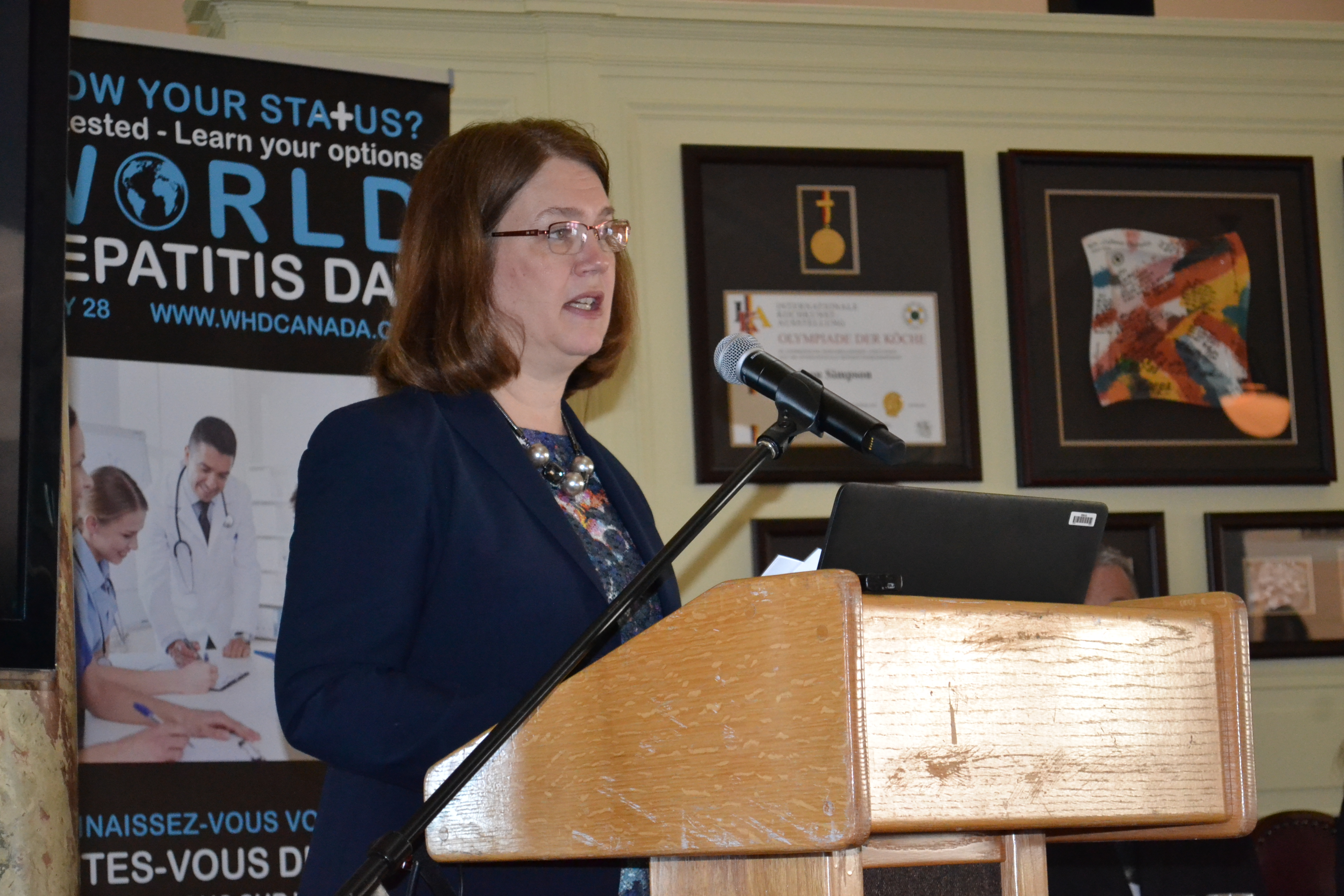 Hon Jane Philpott launches WHD 2016